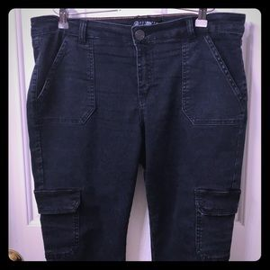 Cargo jeans hot from Tillys size 13!!